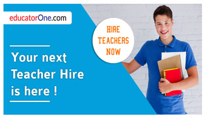 Your next teacher hire is here!