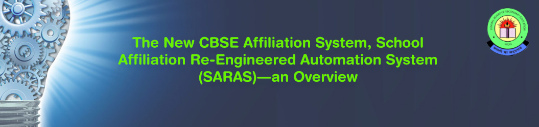 New CBSE Affiliation